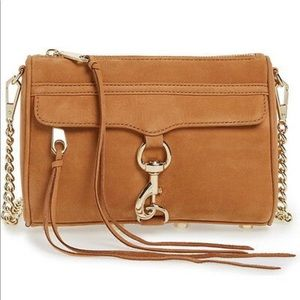 Rebecca Minkoff mini MAC crossbody nubuck bag